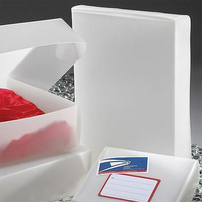 """Recycled 12 x 9 x 1-3/4"""" Frosted One-Piece Boxes 50/ctn (RP-B1291RNAT)"""