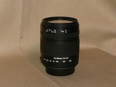 Sigma Macro 28-300 mm F/3.5-6.3 AF IF Lens For Canon