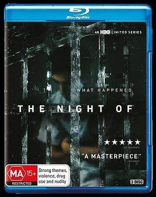 The Night Of (Blu-ray, 2016, 3-Disc Set)