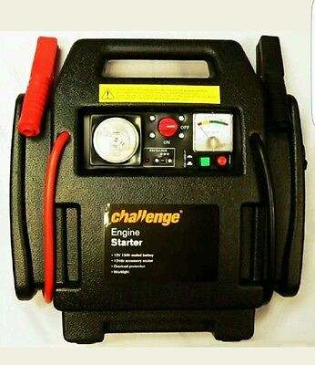 Challenge Rechargeable Engine Starter.