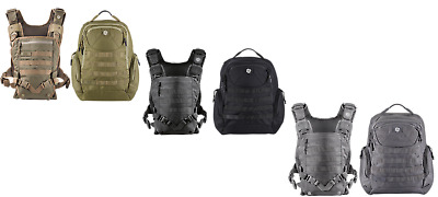 Mission Critical Tactical Men Baby Infant Carrier Front Backpack Dad Father Man