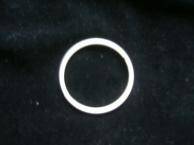 """10 X 3"""" Wire Rings For Lampshades Macrame, Stained Glass, Etc."""