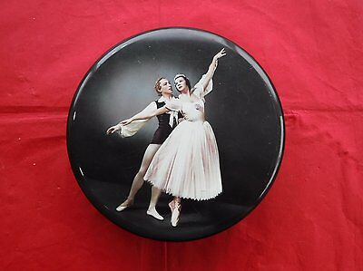 Vintage Carr & Co Biscuit Tin – Ballerina Theme