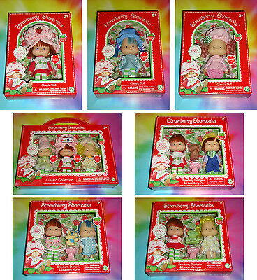 STRAWBERRY SHORTCAKE 2016 - COMPLETE SET of ALL 7 - 1980's Classic Collection