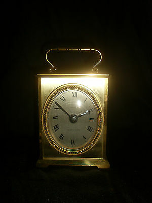 Junghans Brass Cased Carriage Clock - Spares or Repairs
