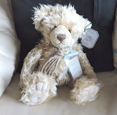 """Silver Tag Bears Collectable 2 Limited Edition Bears by Suki - Ben Bear 17.5"""""""