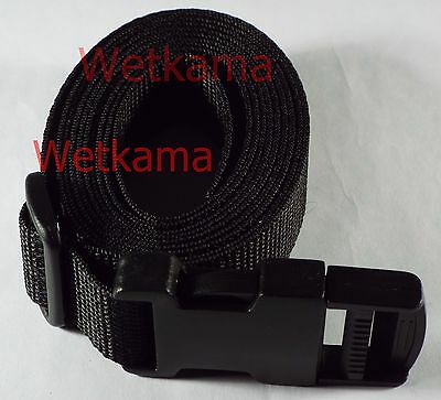 Luggage Straps 2 Quick Release 25mm Webbing Suitcase Strap Length Choice UK Made