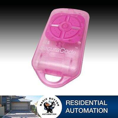 ATA Garage door remote ENCLOSURE ONLY Genuine Part suit Securacode Pink X 4