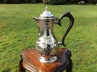 A George III Solid Silver Water Jug London 1767