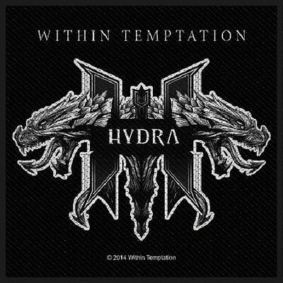 WITHIN TEMPTATION Hydra Woven Sew On Patch Rock Official Merchandise