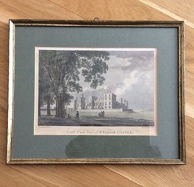 South East View o. Windsor Castle P.Sandby R.A. Pinx M.A.Rooker sculp. Radierung