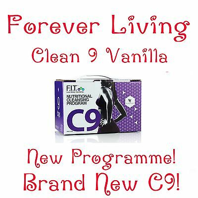 Forever Living C9 Clean 9 Vanilla Detox Aloe Vera Cleanse Diet Weight Loss Plan