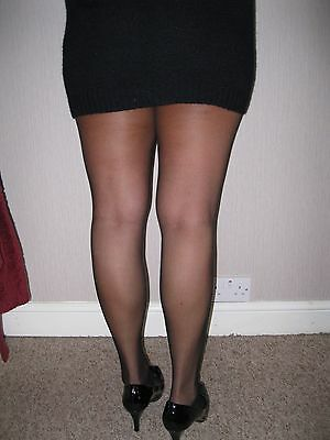 Black tights / /nylons /used/worn/washed