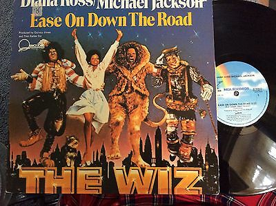 Diana Ross & Michael Jackson - Ease On Down The Road - 12 Inch Vinyl record ex