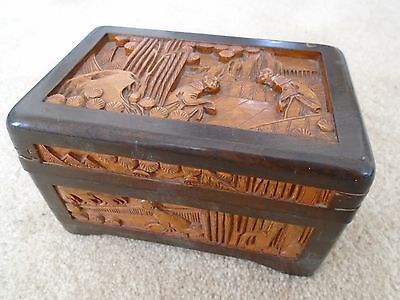 Old Wooden Box (Chinese or Japanese?)