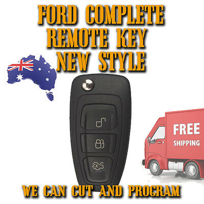 Ford Complete Remote Key New Style - Falcon - Territory - Focus - Fiesta - ++++