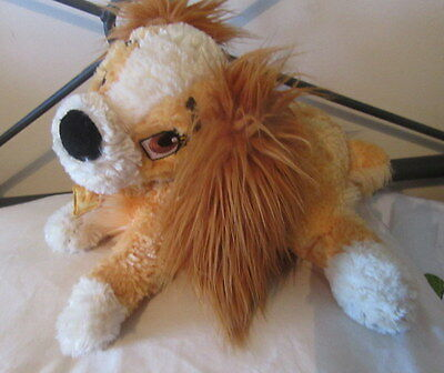Lady from Disney Lady Dog and The Tramp Soft Plush Bean Toy Disney Store