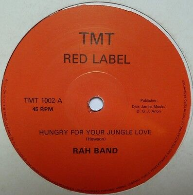 """Rah Band - Hungry For Your Jungle - 12"""" Vinyl"""