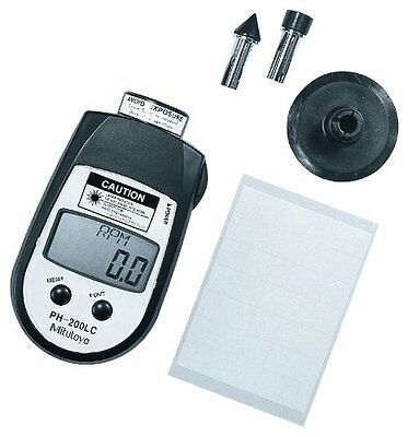 Mitutoyo 982-552 , Digital Hand Tachometer, Contact 6 to 25,000 rpm /