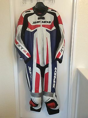 Spidi T2 One Piece Motorcycle Leathers UK44