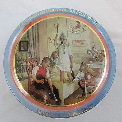 Carl Larsson Scandinavian Heritage Collectors Tin Limited Edition