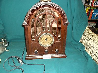 Thomas Collector's Edition 1934 Replica Radio Cassette AM/FM/AFC Working