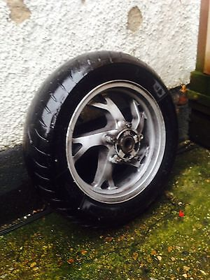 suzuki burgman an400 rear wheel k7 k8 k9 k10