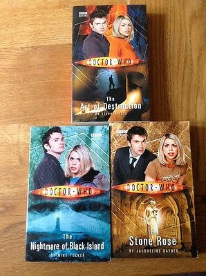 Doctor Who the Collection Book Box Set BBC Books David Tennant And Rose