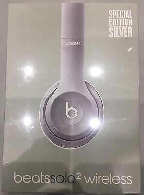 Beats by Dr. Dre Solo2 Wireless Headband Wireless Headphones - Silver