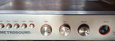 Vintage Metrosound Integrated Amplifier ST20 MkII Made in England