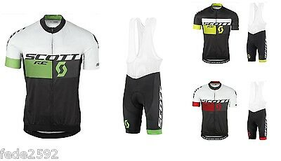 Completo Ciclismo/Cycling Jersey and Pants Combo 2016 Scott