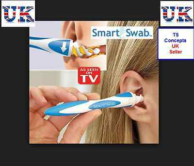 Smart Swab Easy Earwax Removal Soft Spiral Ear Cleaner Safe Tool As Seen On TV