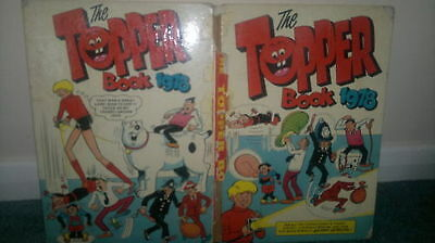 The Topper Book 1978 Annual - Fair - Unclipped 95p