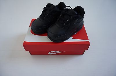 Nike Air Max 90 TD Black | UK 4.5 | EUR 21 | Baby | Toddler | New Boxed