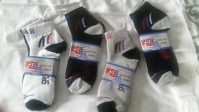 12 Pairs Socks Mens/ Women Fits 10-13> Ankle Crew Cut >Sport