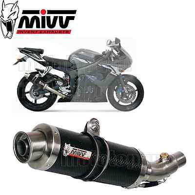 Mivv Approved Exhaust Kat Gp Carbon Yamaha Yzf 600 R6 2003 03 2004 04 2005 05