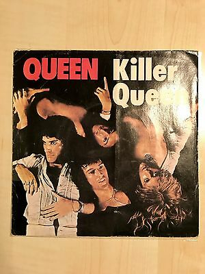 "QUEEN ""KILLER QUEEN"" 7 45 different cover Italy 1975 super rare!!"