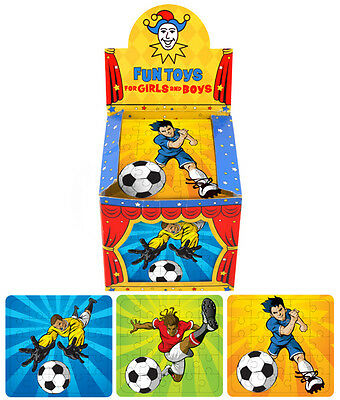 Mini Football Jigsaw Puzzles 1 3 6 10 Party / Loot Bag,  Fillers Free Postage