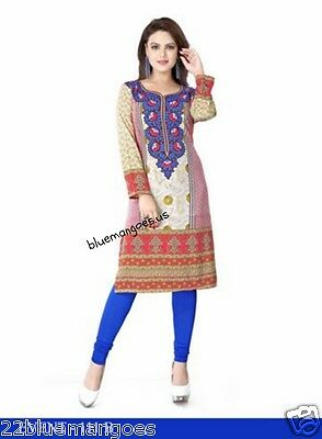 Indian Bollywood Kurta Kurti Designer Women Ethnic Dress Top Tunic Pakistani 3XL