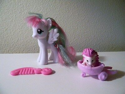 Blossomforth My Little Pony Brushable And Pet Hedgehog With Cart, G4 MLP Hasbro