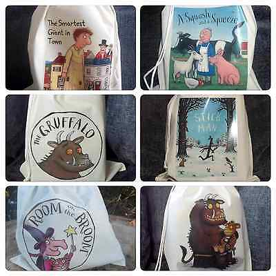 The Julia Donaldson Story sack collection Empty Sacks and Teaching Resource CD's