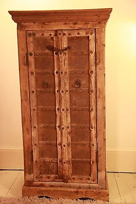 Indian antique style mogul style wooden cupboard/bookcase