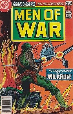 Men Of War #7 Dc 1978 Milk Run. Combined Shipping Available