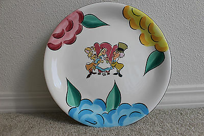 """""""NEW"""" Disney Gallery, Alice, Mad Hatter & March Hair Plate, Decorative Plate"""