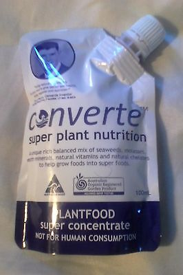 Converte plant food SUPER CONCENTRATE  (see photos for uses and effects)