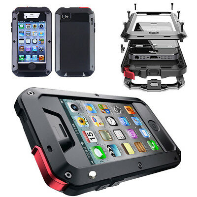 SHOCK & Dustproof Waterproof Aluminum Gorilla Metal Case Cover For iPhone SE 5S