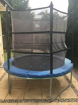 Vuly 8ft Trampoline with Net and free Tent And Skirt
