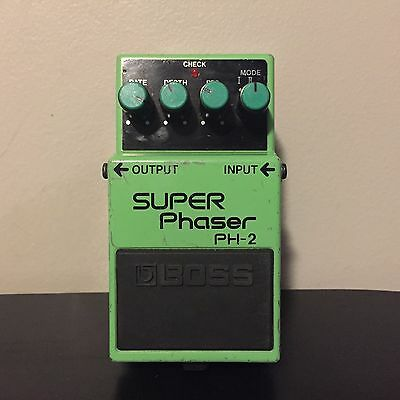 Boss Super Phaser PH-2 Guitar Effects Pedal Black Label