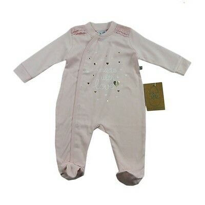 Baby Girl Size 0000 Just Hatched Made with Love Heart Romper Newborn