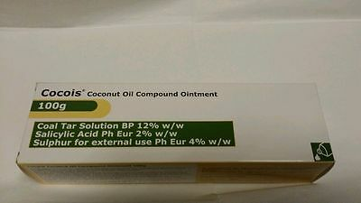 1 x 100g COCOIS COCONUT OIL OINTMENT TREATMENT DRY SCALY (LIKE SEBCO) - NEW